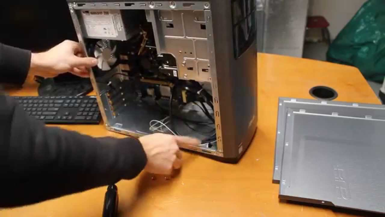 HOWTO: ASUS M32CD Case Front Panel Removal  YouTube