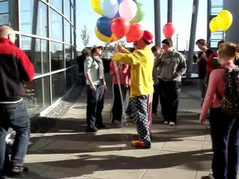 Clowning Around The College