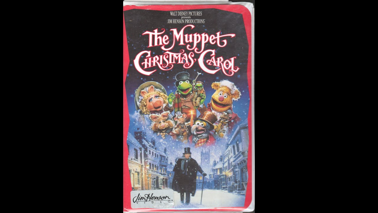 Opening To The Muppet Christmas Carol 1993 VHS - YouTube