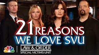 21 Reasons We Love SVU - Law & Order: SVU (Digital Exclusive)