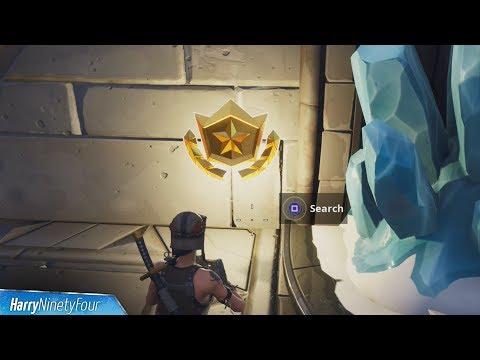 Secret Season 7 Week 7 Battlestar Location Guide (Snowfall Challenges) - Fortnite Battle Royale