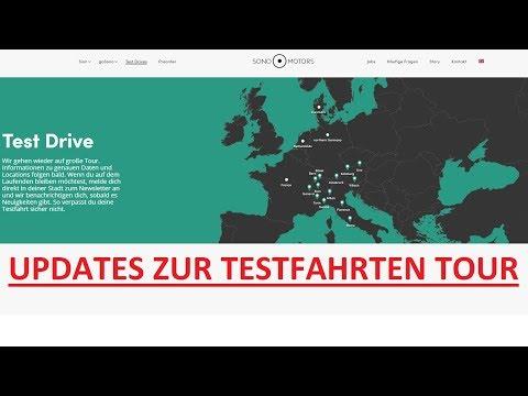 Sono Motors Update zur zweiten Testfahrt Tour [Deutsche Version]