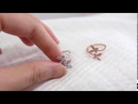Julia Butterfly ring video2