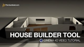 Cinema 4D Video Tutorial: House Builder Tool(In this exclusive video tutorial we'll show you how to use the House Builder tool in Cinema 4D. Read the full post and get the font download link from ..., 2014-09-04T16:01:33.000Z)