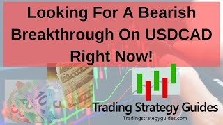 Looking For A Bearish Breakthrough On USDCAD Right Now! + S&P 500, Apple, GBPCAD, & USDCHF