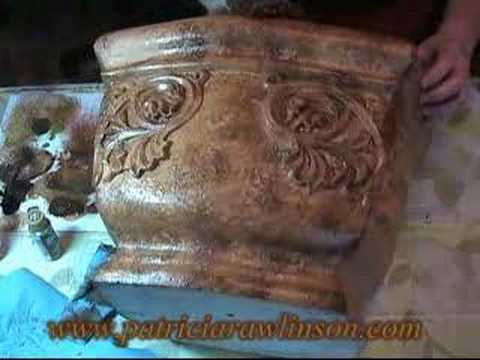 Paint A Tuscan Planter Faux Finish Decorative Painting