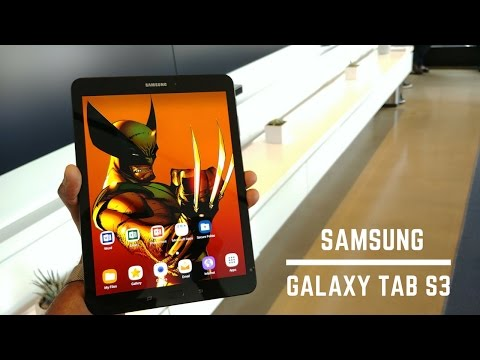 Samsung Galaxy Tab S3 Hands-on
