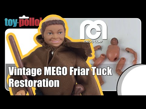 Fix it guide - Mego Friar Tuck restoration