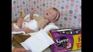 Fraldinha Para Mini Bebê Reborn e Bonecas - Como Fazer
