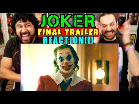 JOKER - FINAL TRAILER | REACTION!!!