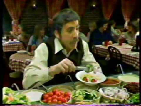 Pizza Hut Family Style Spaghetti Night 1980 Commercial