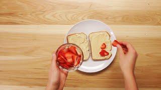 4種のフレンチトースト 各2人分 ミックスベリー 材料: □卵液 卵 4個 牛...