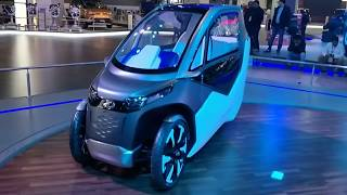 Mahindra UDO and ATOM Electric Vehicles at Auto Expo 2018 #ShotOnOnePlus