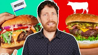 Impossible Burger vs. Beef: Which is Healthier?