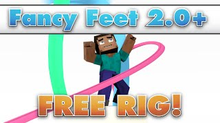 Fancy Feet Minecraft Blender Rig - Free Download