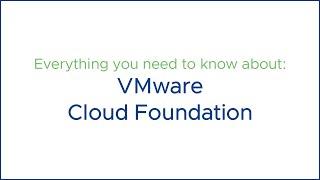 Webinar: VMware Cloud Foundation