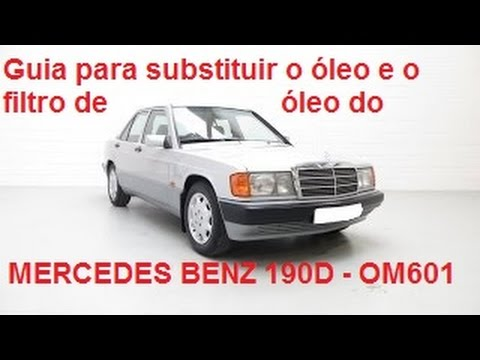 Mercedes benz 190d w201 om 601 oil and filter change for How much is oil change for mercedes benz