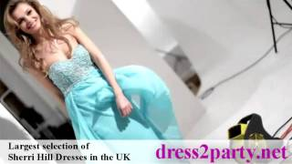 Sherri Hill dresses 2011 - Exclusive London Boutique & Online -Dress2Party.net