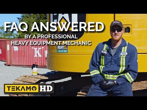 Heavy Equipment Mechanic Answers YOUR Common FAQs
