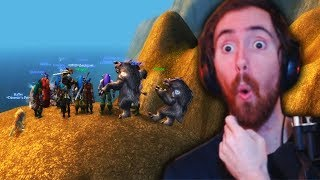 Asmongold Finds a Glitch To LEAVE WESTFALL In WoW Classic!