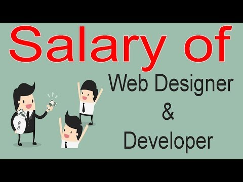 Salary of Web Designer and Developer in India - Before enter into Web Please Watch in Hindi