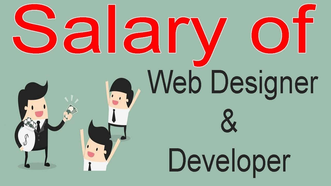 Salary Of Web Designer And Developer In India Before Enter Into Web Please Watch In Hindi Youtube
