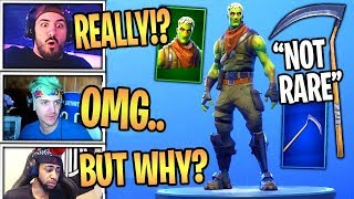 Streamers React To NEW Brainiac Skin & OG SCYTHE Pickaxe Returned! Fortnite Best Moments!