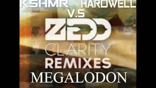 Zedd vs. W&W vs. KSHMR vs. Hardwell - Clarity Megalodon (DJ KOB3 MashUp)