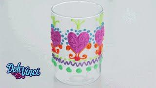 Dohvinci U.s. | Diy | Decorating A Glass Vase