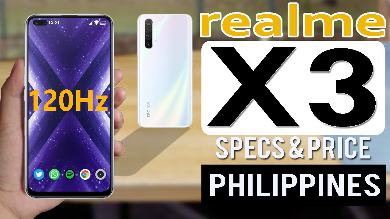 Realme X3 Specs Features Price In Philippines Youtube