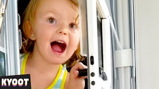 Do NOT Bother HER! 😂 | Baby Cute Funny Moments | Kyoot