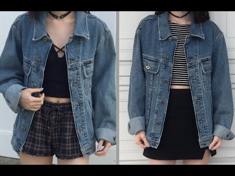 2 Grunge Aesthetic Outfits Youtube