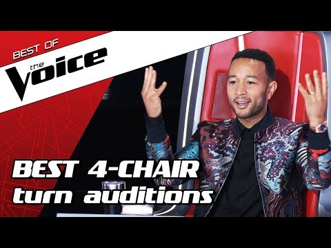 TOP 10  ALL TURN Blind Auditions in The Voice