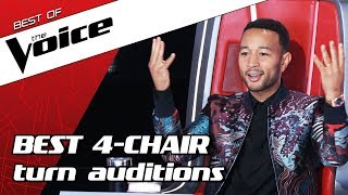 TOP 10 | ALL TURN Blind Auditions in The Voice