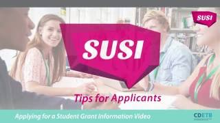 SUSI Student Grants. Tips for applicants thumbnail