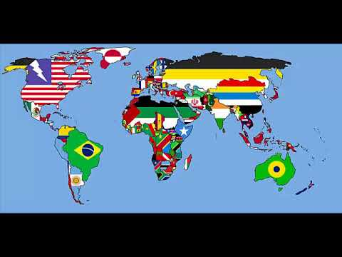 Alternate Future World Map Next 1 000 Years Youtube