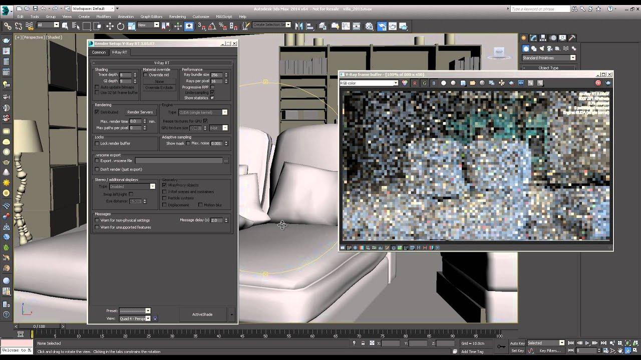 Quadro VCA for Chaos V-Ray RT向け | NVIDIA