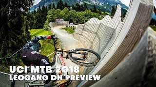What to expect from the Leogang downhill MTB race. | UCI MTB 2018