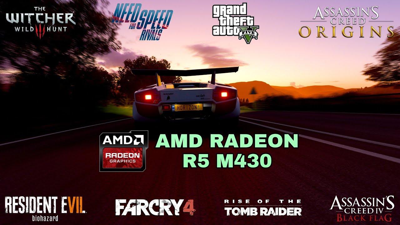 Amd Radeon R5 M430 2GB Gaming Test ! 2018