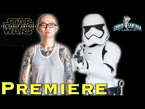 VLOG: Star Wars The Force Awakens Premiere 501st Legion