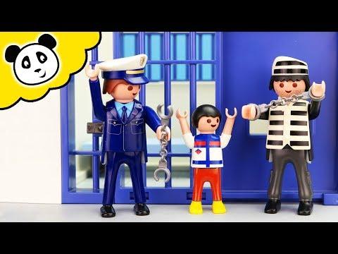 Playmobil Polizei - Papa wird verhaftet! Playmobil Film