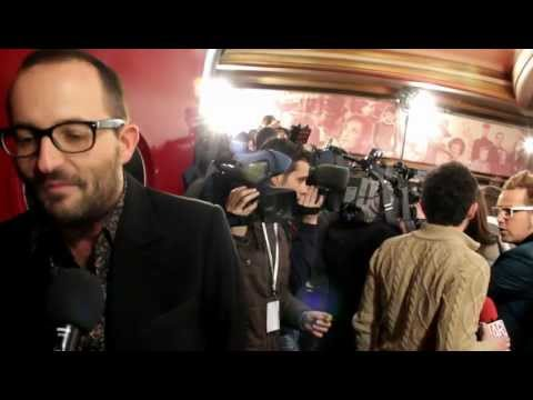 Fernando González Molina en la premiere de 'Volver a nacer'