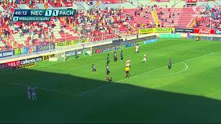 Gol de E. Herrera | Necaxa 2 - 1 Pachuca | Liga MX - Clausura 2019  - Jornada 15 | LIGA Bancomer MX