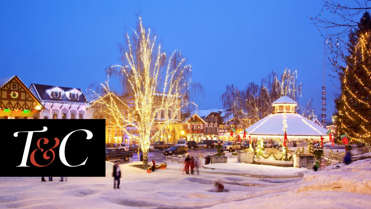 Americas 16 Best Small Towns For Christmas Town