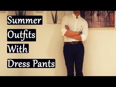 [VIDEO] – SANDRO, ALLsaints, Summer 2019 Casual Outfits For Men | TOPMAN Dress Pants