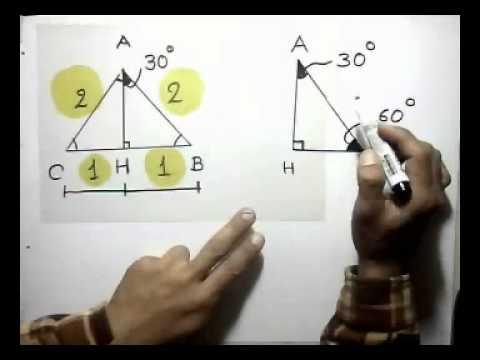 Triangulo de 30 y 60 grados youtube for Cocinar a 60 grados