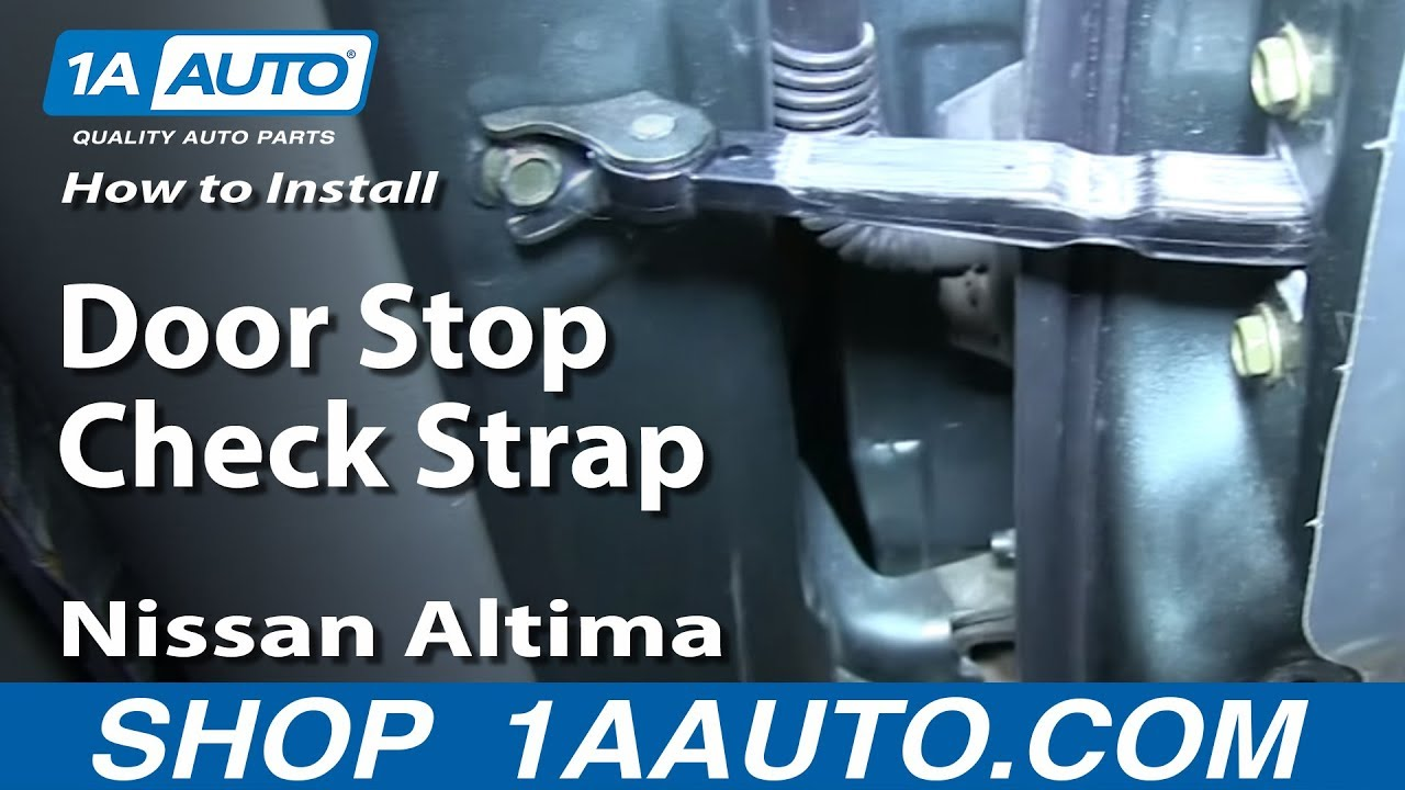 How To Install Replace Rear Door Stop Check Strap 2002-06 ...