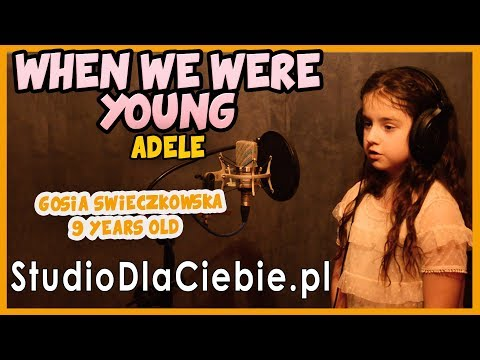 When We Were Young - Adele (cover by Gosia Świeczkowska - 9 yrs old) #1060