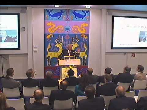 Lecture by the Foreign Minister of the Palestinian Authority, Dr. Riad Al-Malki