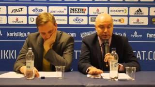 Lehdistötilaisuus Helsinki Seagulls vs. Tampereen Pyrintö 16.04.2016